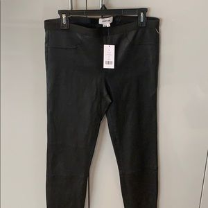 Helmut Lang leather leggings ! New! With tag